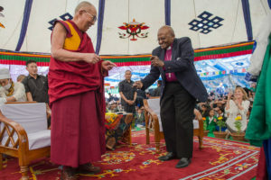 Archbishop Desmond Tutu and the Dalai Lama