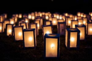 candle lights let us hold tight to the memories